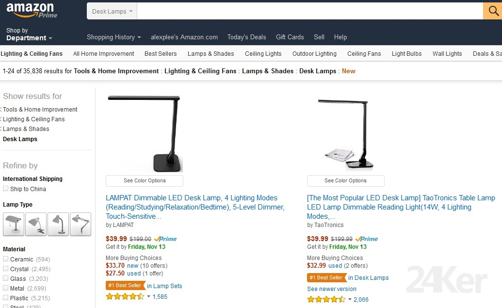 Amazon.Lamp.Top.sale