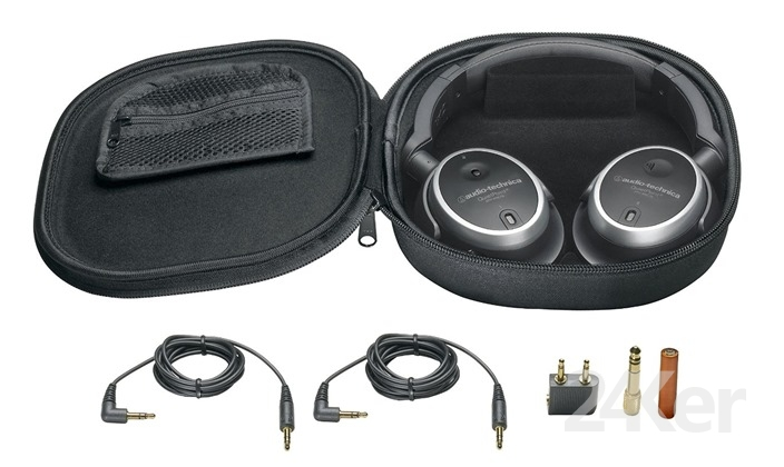 Audio-Technica ATH-ANC7B quietpoint主动降噪耳机2