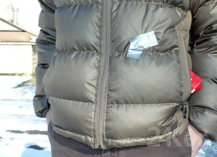 Down jacket Fix6